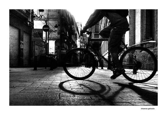 Passaggio in bicicletta