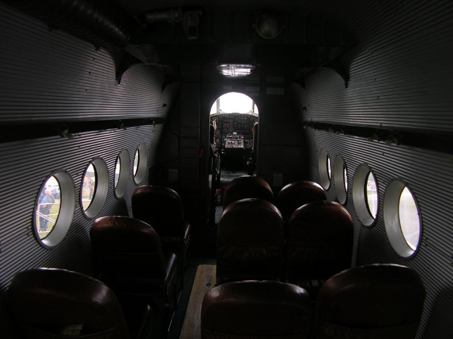 Passagier Plätze auf eine Antonov AN2