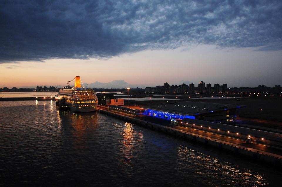 Passagierschiffanlieger St. Petersburg