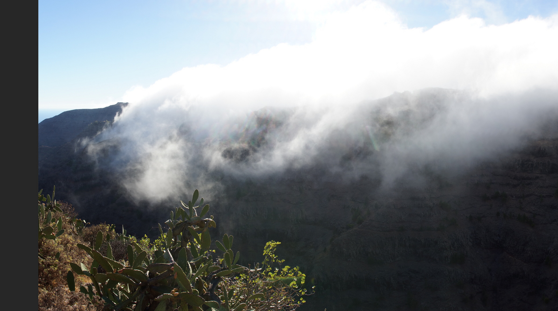 Passatwolken über La Merica (1)
