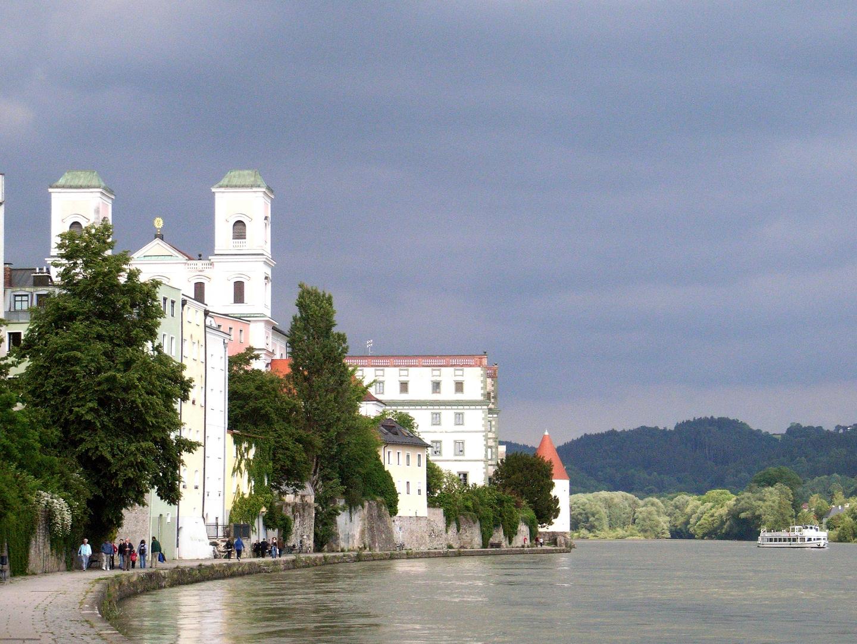 Passau, am Inn entlang