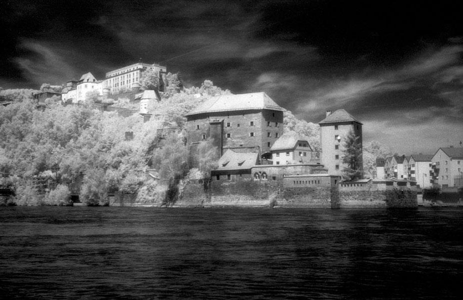 Passau - Feste Oberhaus und Niederhaus