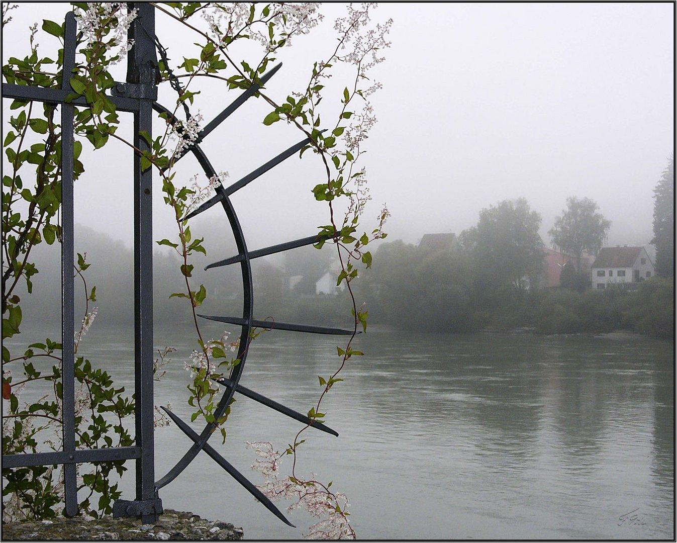 Passau im Nebel