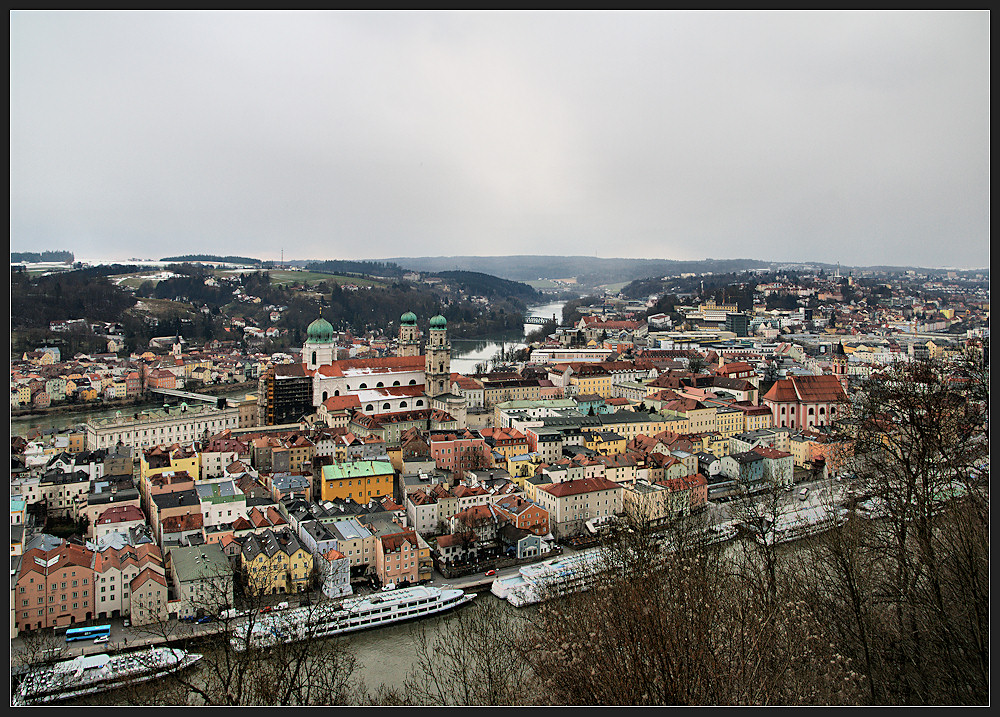 Passau im Regen (2)