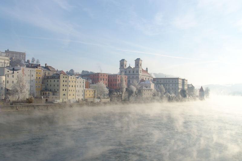 Passau im Winter