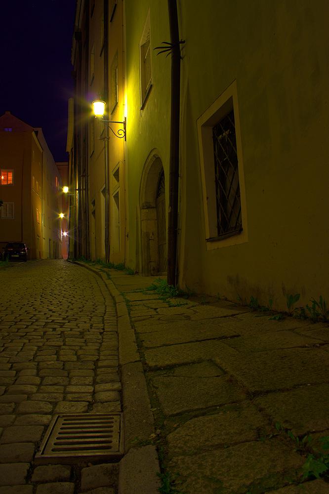 Passau - Marktgasse - HDR