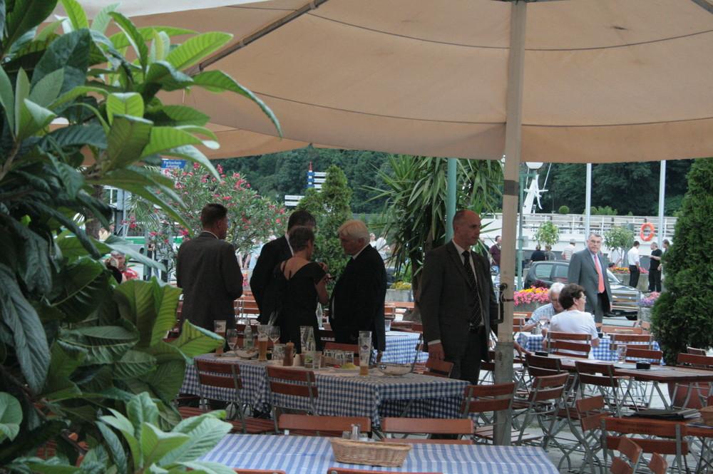 Passau, Petersburger Gespräche. Der Außenmeier. Nach dem Abendessen