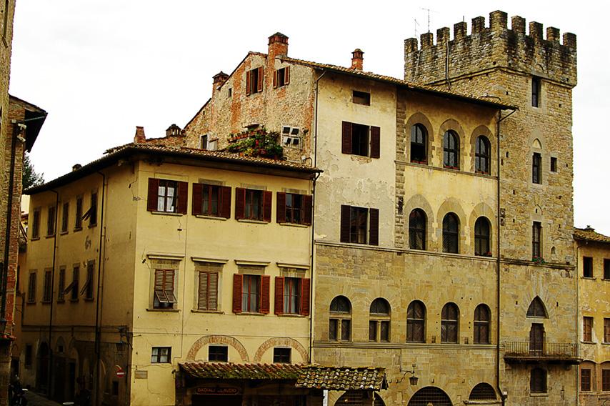 Passeggiando per le vie di Arezzo
