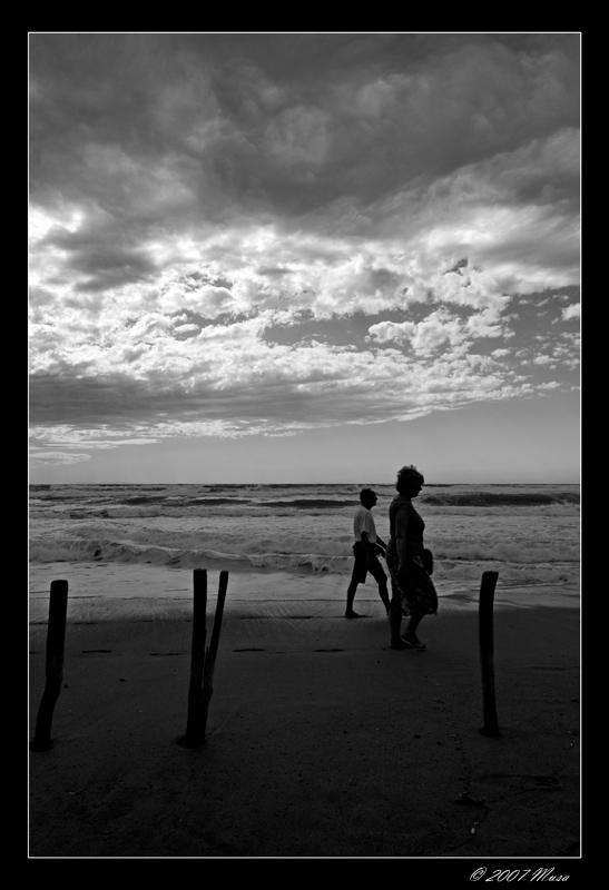Passeggiata In Spiaggia