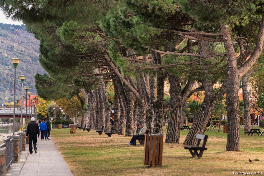 Passeggiata nel parco, Germignaga