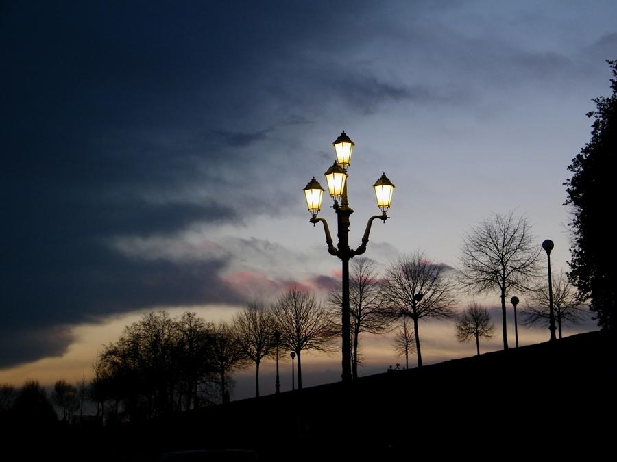 passeggiata romantica sulle mura...