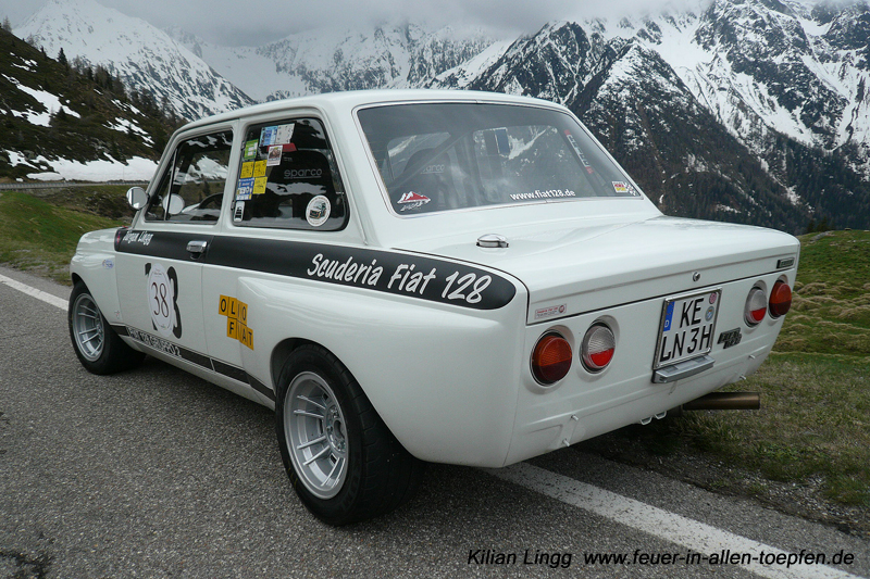 Fiat Abarth  Rally Car For Sale