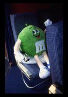 passenger 36/F - Mr. m&m - green