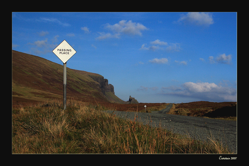 Passing Places - Quiraing - Skye