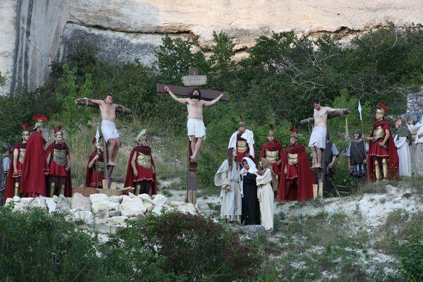Passionspiele Kreuzigung