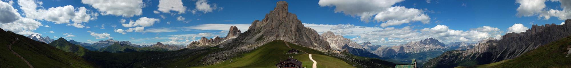 Passo Giau in den Dolomiten