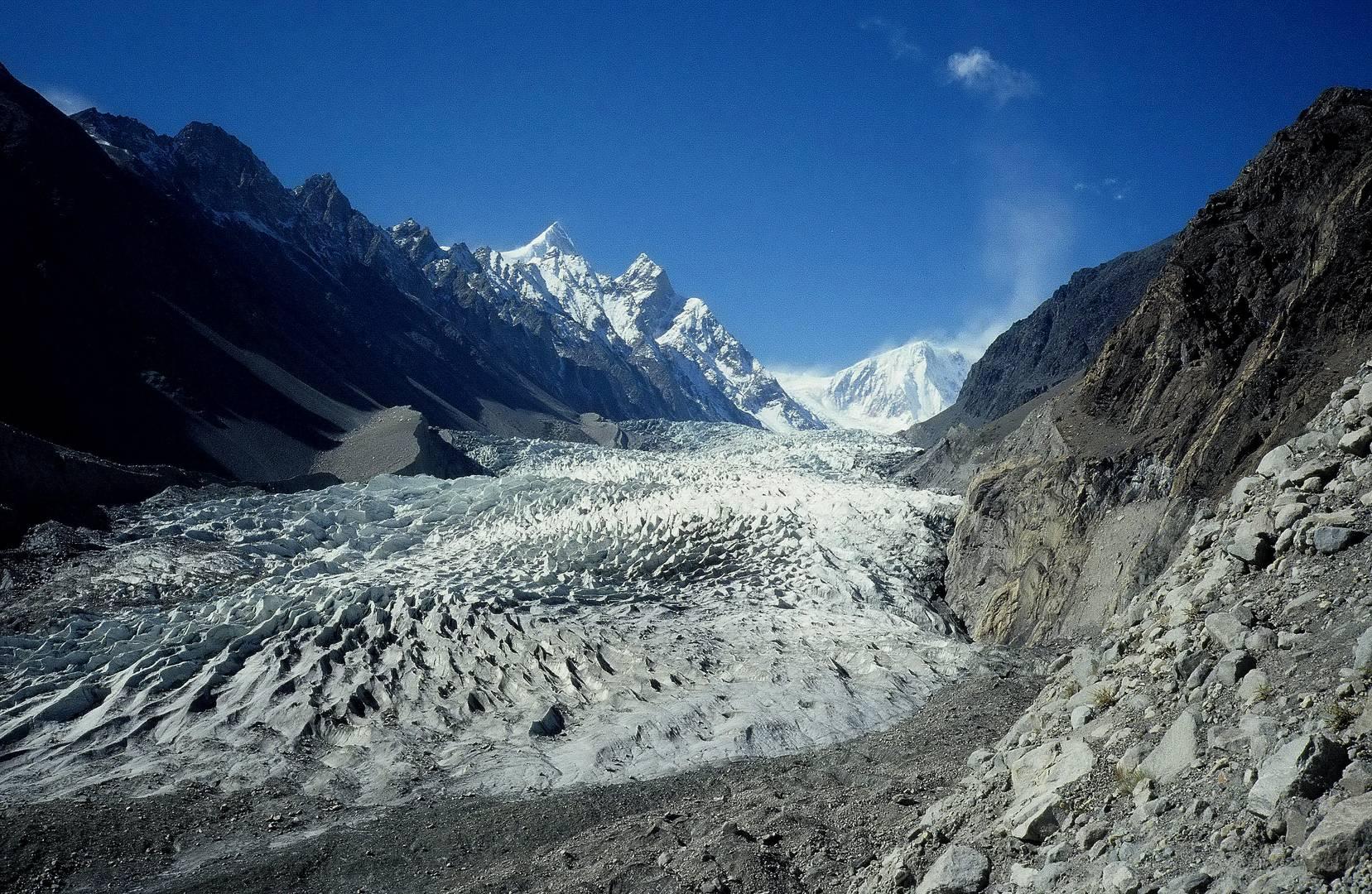 Passu - Gletscher