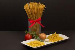 Pasta Variation mit Schleife