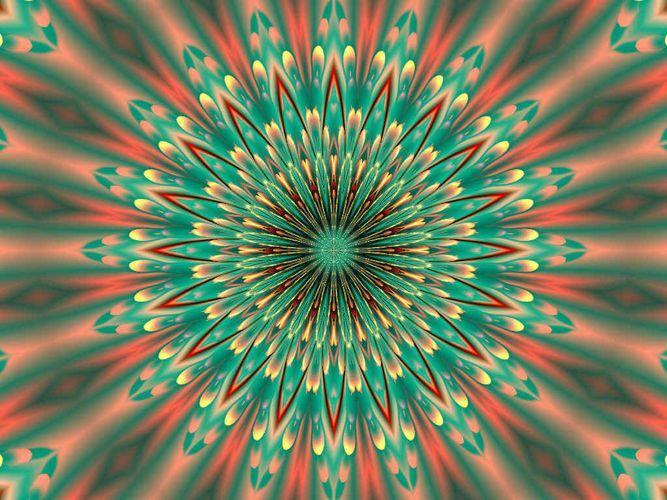 Pastell Kaleidoscop 1
