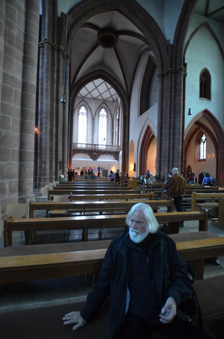 Pastor Herrmann in St. Stephans (Mainz)