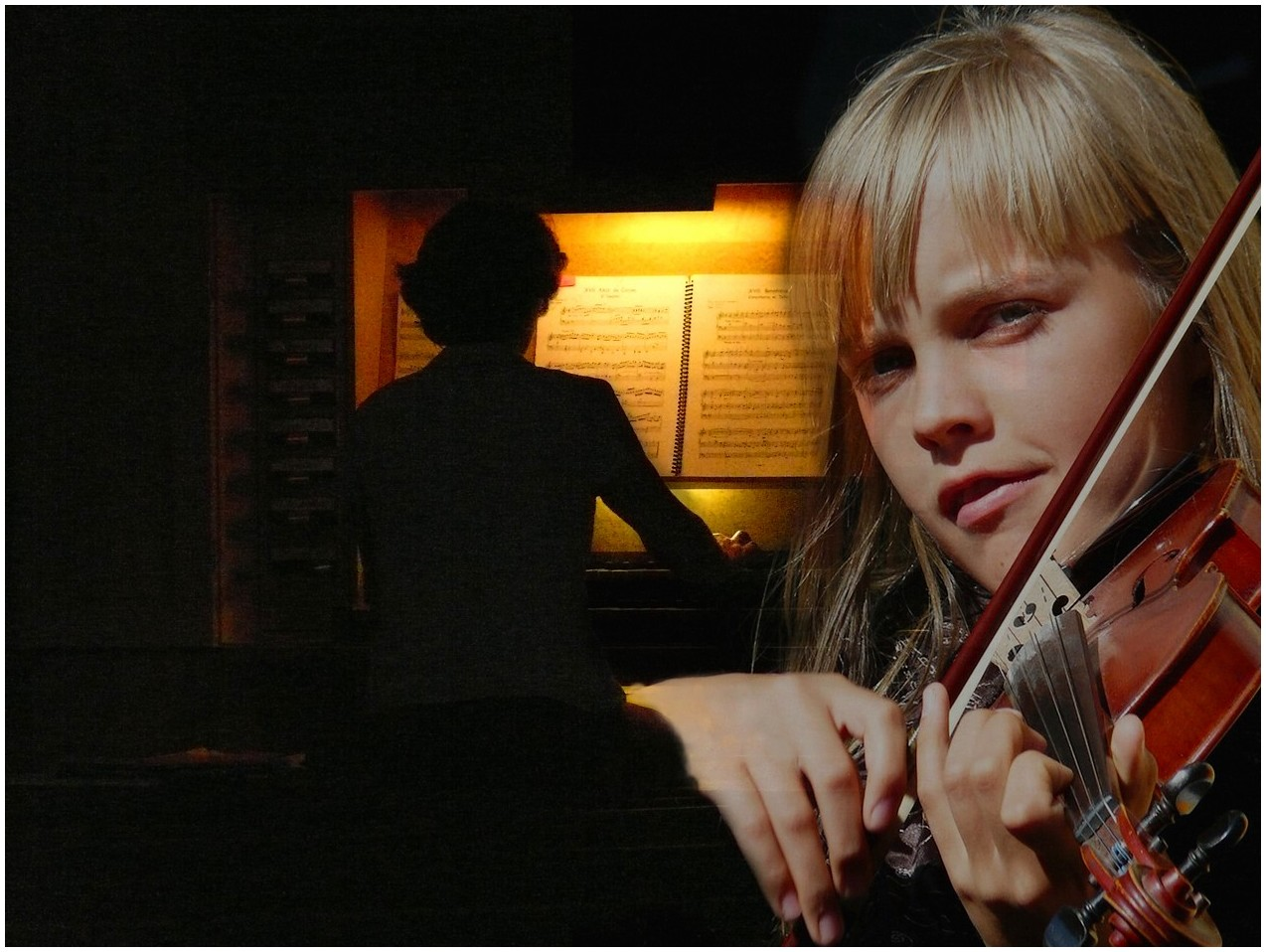 pastorale pour orgue et violon
