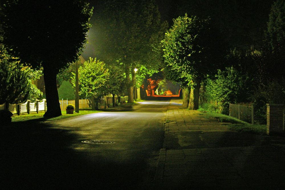 Pastow bei Nacht
