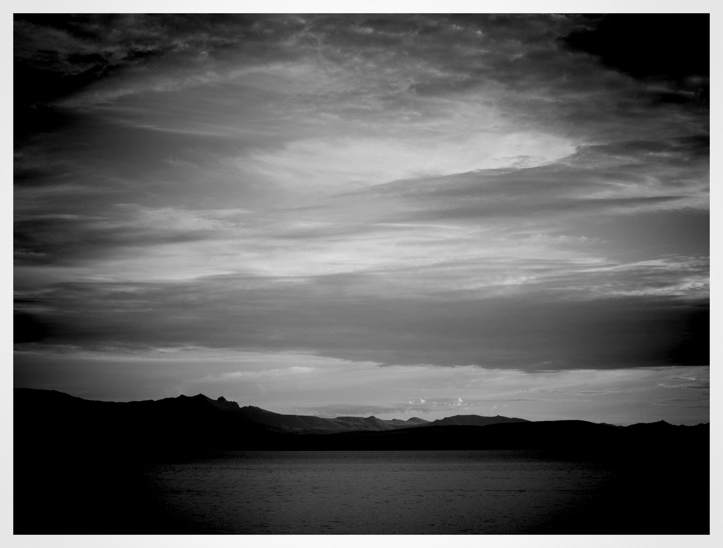 Patagonien am Morgen ..