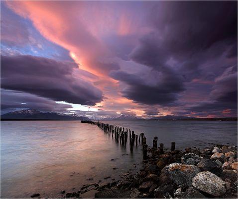 Patagonische Wolkenschau
