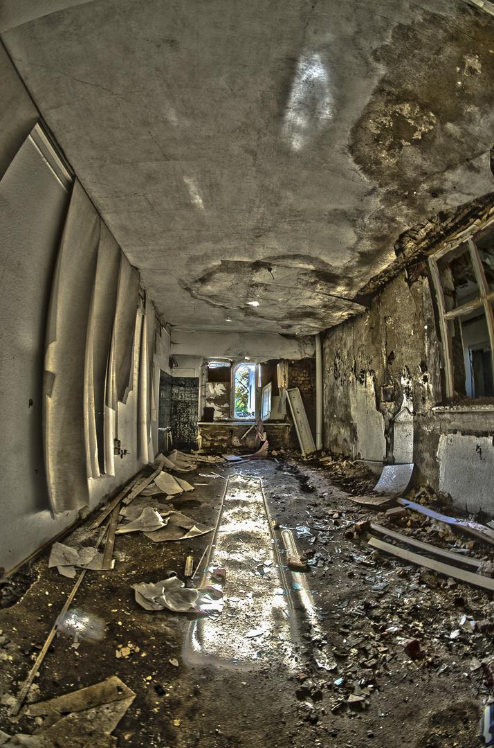Patientenzimmer- altes Psychiatrisches Krankenhaus Großörner