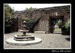 Patio en la iglesia de Ocotepec