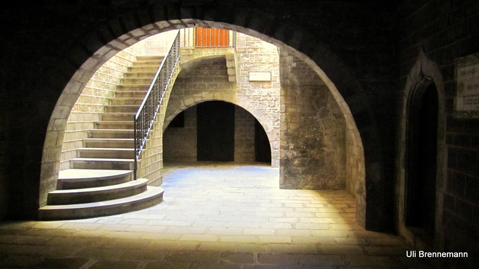 Patio mit Treppe