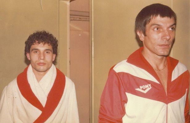 PATRICK BRIZON et son élève JEAN LOUIS LAFARGUE