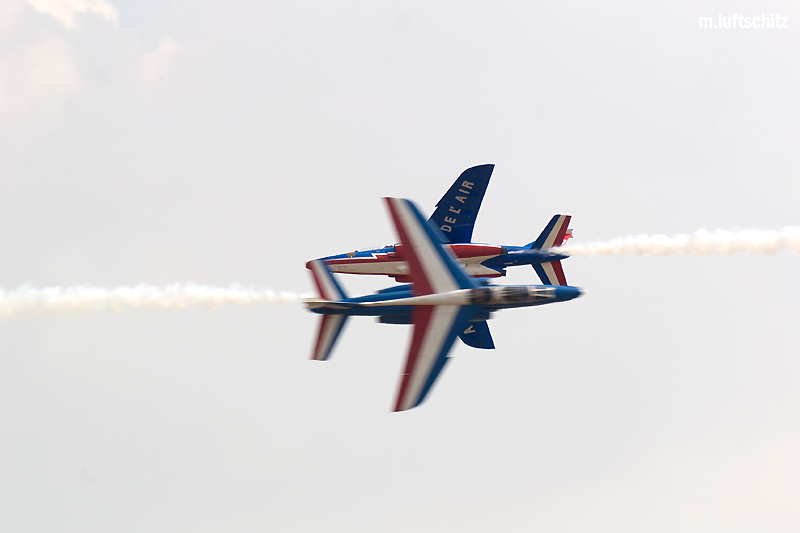 Patrouille de France (F) - In letzter Sekunde