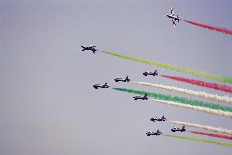patrouille d'Italie meeting aérien de cazaux 2