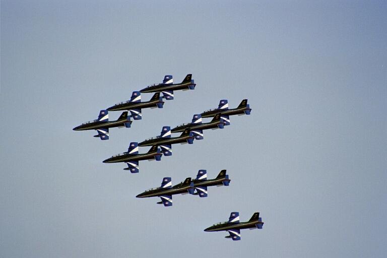 patrouille d'Italie meeting aérien de cazaux