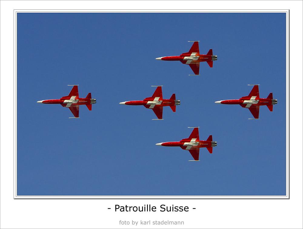 - Patrouille Suisse -