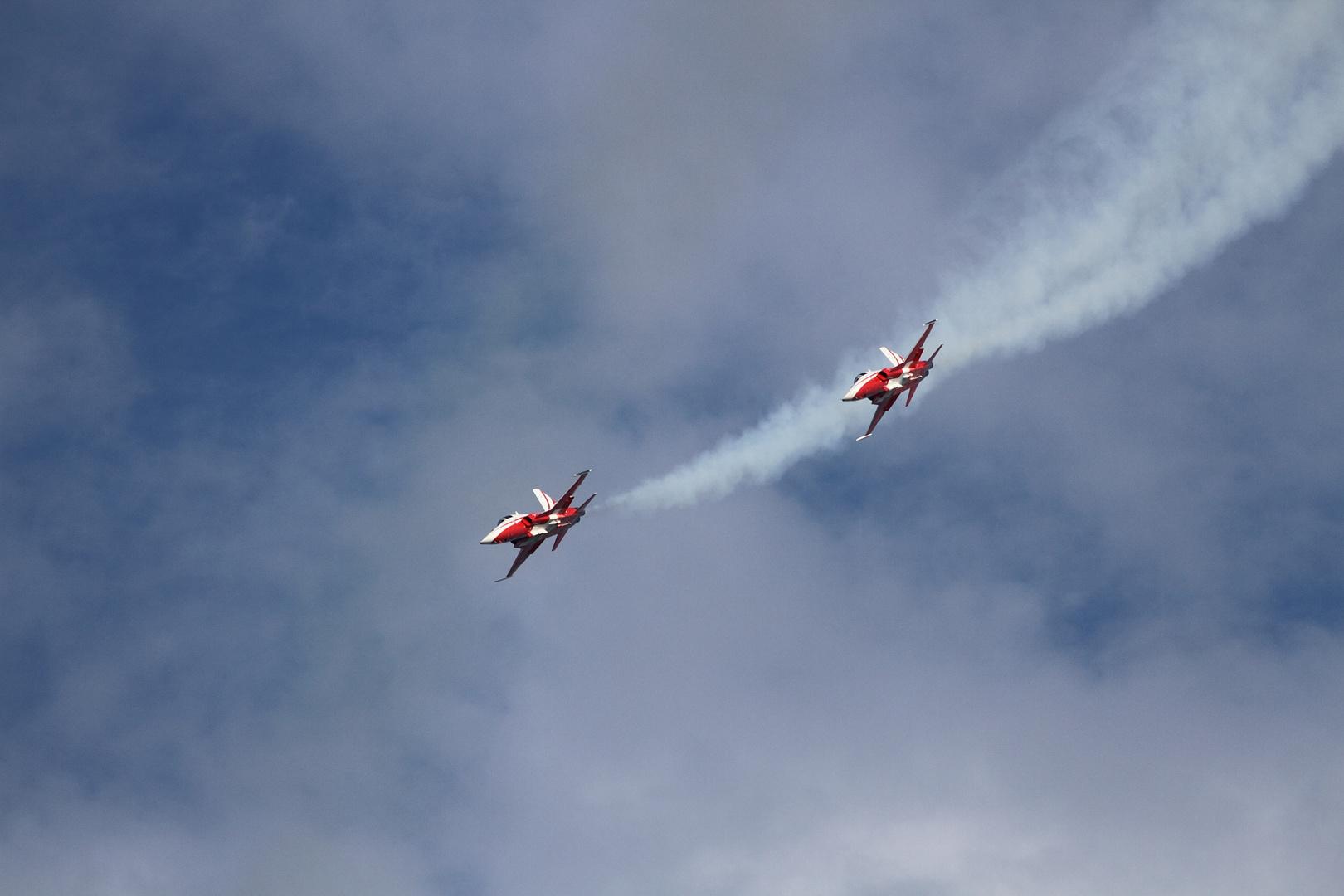 Patrouille Suisse Flugshow