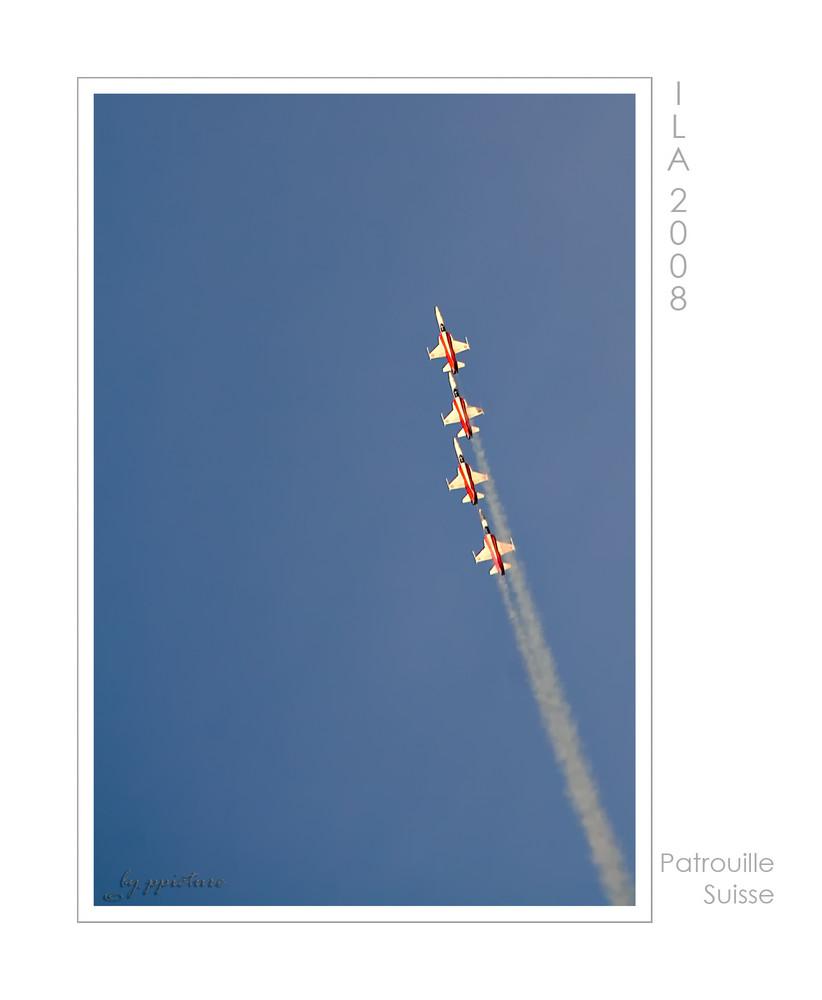 Patrouille Suisse - ILA 2008
