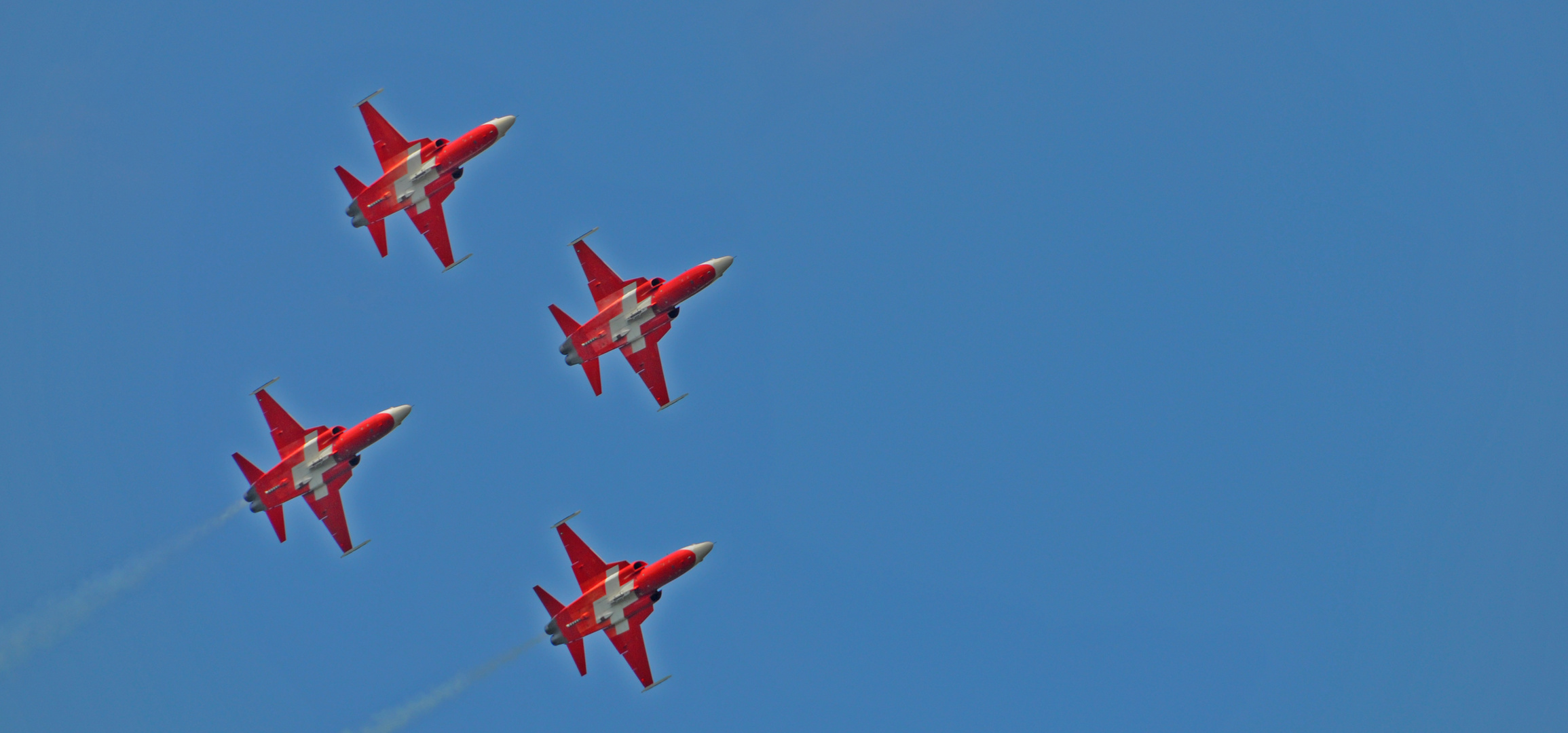 Patroulle Suisse in Formation