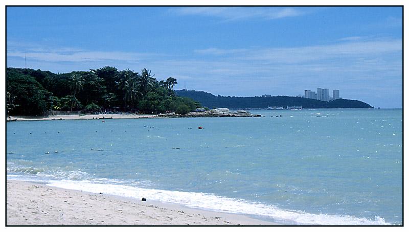 Pattaya Beach am Golf von Thailand