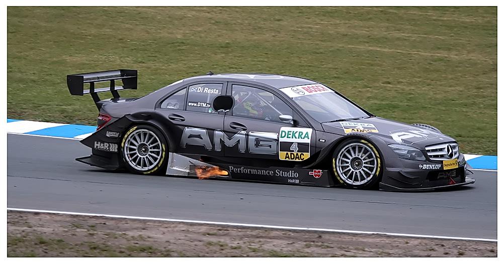 Paul di Resta - AMG Mercedes C-Klasse (2008)
