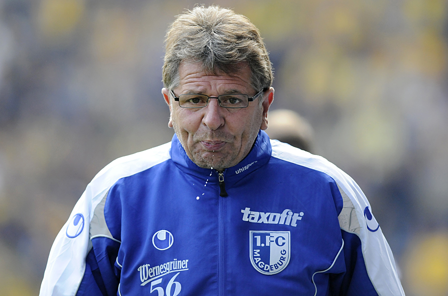 Paul Linz Trainer 1.FC Magdeburg