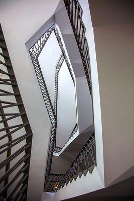 Paul-Wunderlich-Haus - Treppenhaus