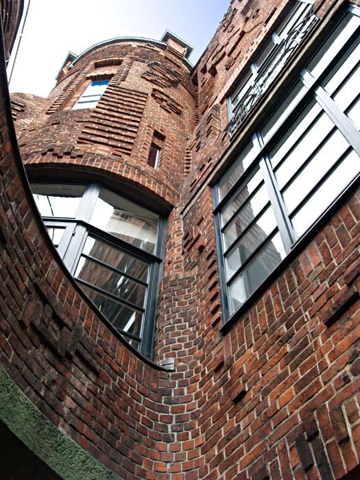 Paula-Becker-Modersohn-Haus, Bremen, Fassadendetails