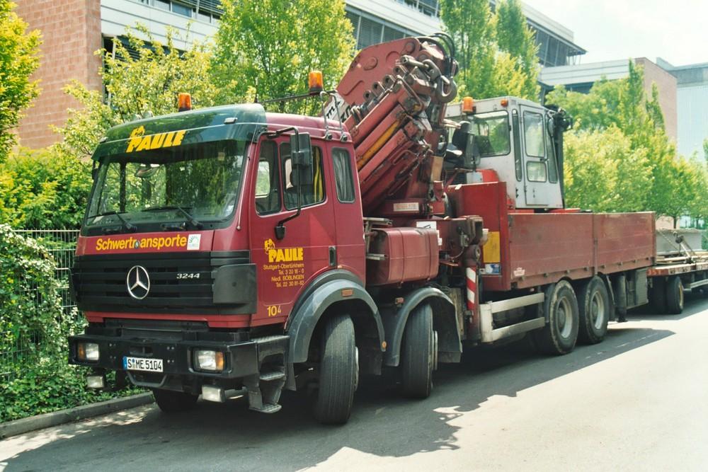 PAULE STUTTGART Mercedes Benz 3244 8x4