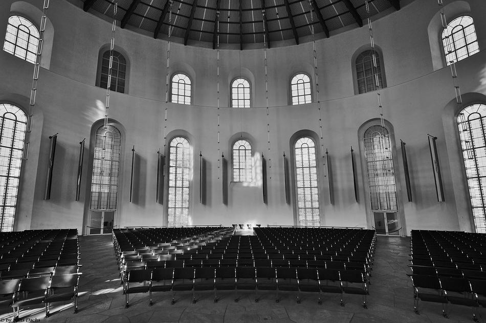 Paulskirche in Frankfurt - Wiege der Deutschen Demokratie .......