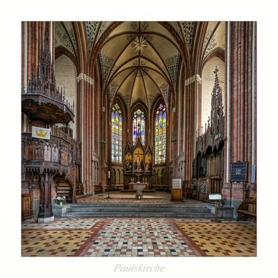 """Paulskirche - Schwerin """" Gott zu Gefallen..."""""""
