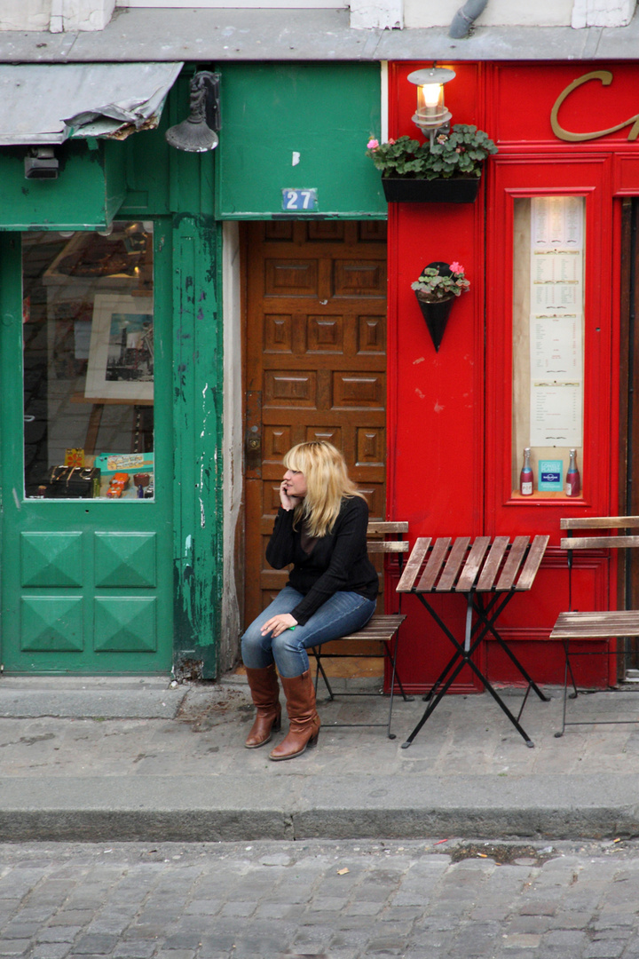 Pause am Montparnasse