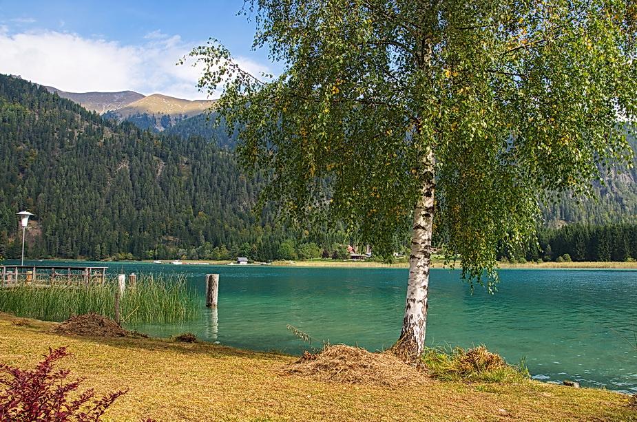 Pause am Weißensee