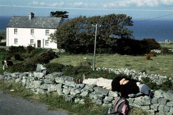 Pause auf Inis Mór